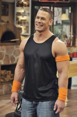John Cena Squatting
