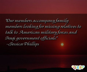 Missing Family Members Quotes
