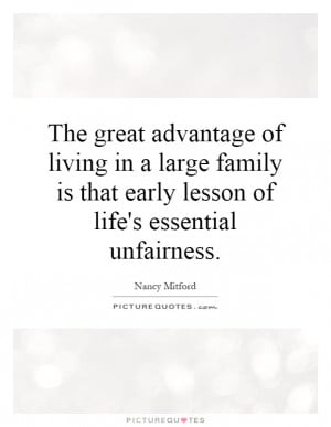 Family Quotes Fairness Quotes Nancy Mitford Quotes