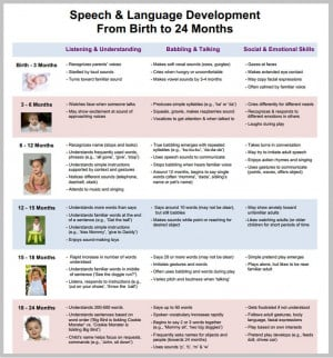 The speech and language development is an important and individual ...