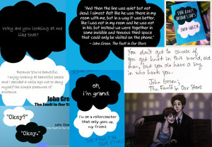Tfios Quotes Wallpaper The fault in our stars quote
