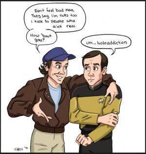 Howling Mad Murdock - The A Team & Star Trek