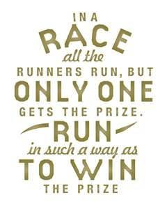 Good luck and do your best for tomorrow runs!