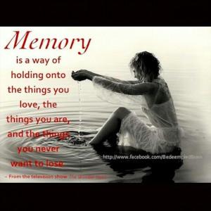 Precious Memories!