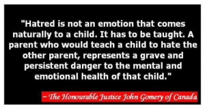 ... Story of a Suicide as a Result of Parental Alienation Syndrome PAS