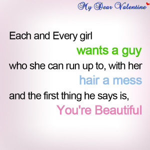boyfriend quotes Each and every girl want.jpg