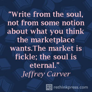 Jeffrey Carver quote on writing