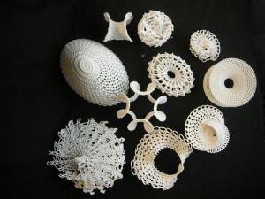crochet, architecture, design