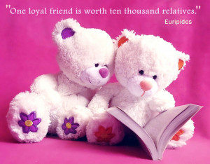 Home » Quotes » Loyal Friend Quotes Wallpaper