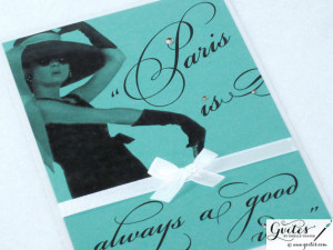 Handmade Breakfast at Tiffany's Quotes & Party Decorations ...