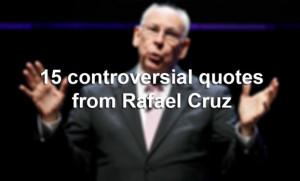 Pastor Rafael Cruz, father of U.S. Sen. Ted Cruz, R-Texas, has a ...