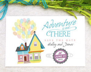 Up Movie Quotes Adventure Design fee - up save the date