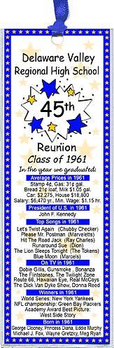 class reunion favors high school reunion souvenirs and giveaways