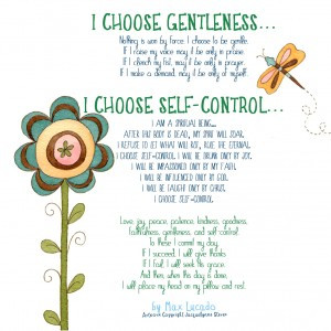 Poster: I Choose Love (Max Lucado quot e) Thanksgiving Place Cards