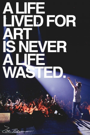 good artist with a good message yeah he s popular and i like him he s ...