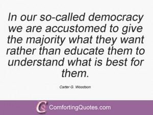 Carter G Woodson Quotes