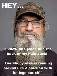 uncle si quotes | Uncle Si Robertson Just Ducky wallpaper