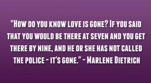 Marlene Dietrich Quote