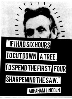 Quote on smart work by Abraham Lincoln Quote on smart work by Abraham ...