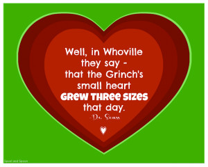 Good news! The Grinch's heart grew three sizes and he posted the ...