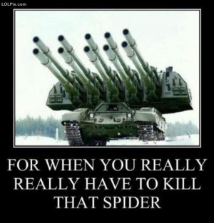 ... Page 2/20 from Funny Pictures 1496 (For That Spider) Posted 8/21/2013