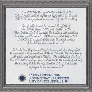 Rusty Bodenhorn, Administrative Officer - City of Noblesville, IN ...