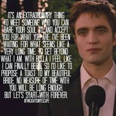 Edwards Beautiful Wedding Speech :') ♥♥♥♥♥♥♥♥♥ More