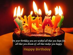 Funny happy birthday sms Birthday SMS in Hindi in Marathi in English ...