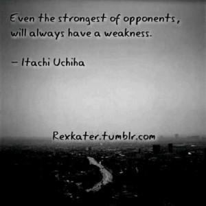 Itachi Uchiha Quotes Tumblr
