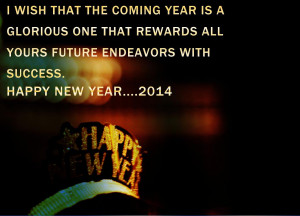 Happy New Year 2014 Quotes Wallpaper