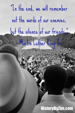 In Their Words – Martin Luther King Jr.
