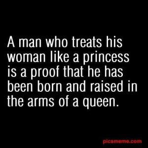 How a man should treat his woman!