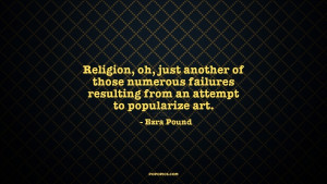 The passion for art is, as for believers, very religious. It unites ...