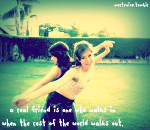 cute, friend, girl, quote
