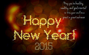 Happy New Year 2015 Poems