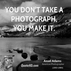 Ansel Adams American Photographer