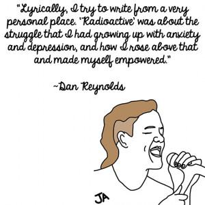 Imagine Dragons Frontman Dan Reynolds Talks Success, In Illustrated ...