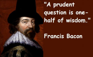 Francis bacon quotes and sayings