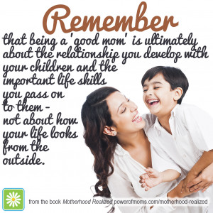 Quotes About Being A Strong Mother Being-a-good-mom