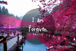 ... this image include: forgiven, god, jesus, lord of your heart and love