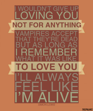 thespngames:TMI Quotes: Simon LewisYou know, Clary's lovers can be ...