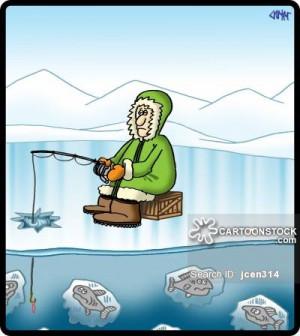 Ice Fishing Cartoons Funny