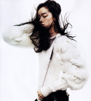 Fei Fei Sun by Josh Olins for Vogue China November 2011 via FGR