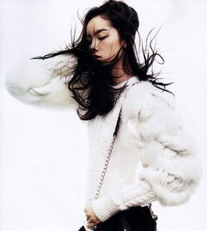Fei Fei Sun by Josh Olins for Vogue China November 2011 via FGR