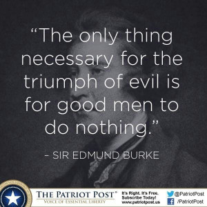 Sir Edmund Burke quotes