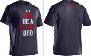 ... Under Armour t-shirts were coming soon, and sure enough, here they are