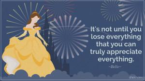 Disney Princess Quotes Cinderella belle inspirational quote