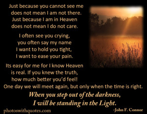inspirational quotes about death and grief