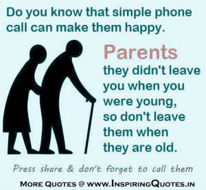 Quotes about Parents Love Images Motivational Thoughts on Parents ...