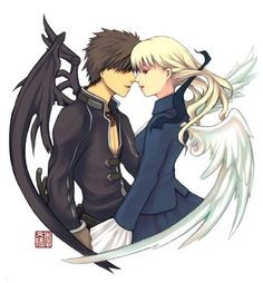 devil and angel love more angel and demons animal things animal angel ...
